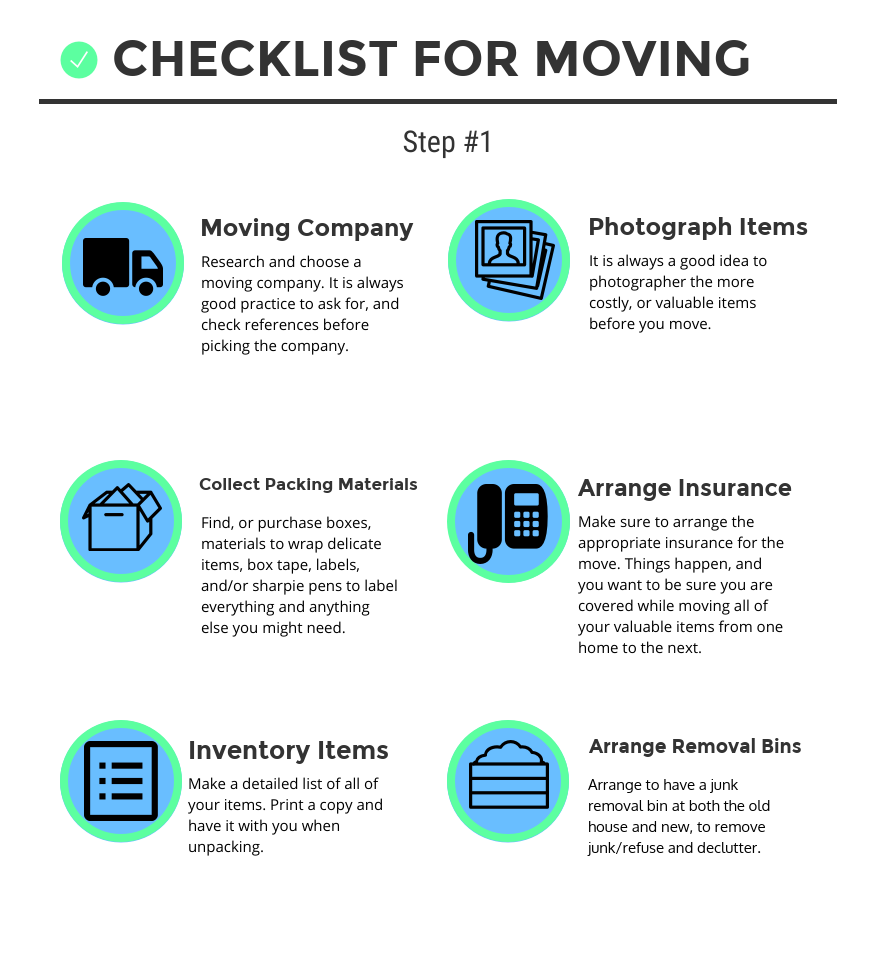 Moving Check List 1